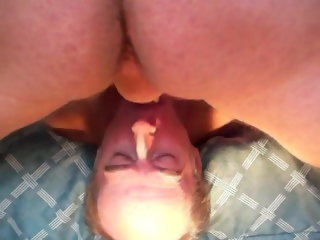 daddy Bald daddy deepthroats another daddy's bushwa with an increment of eats cum bald